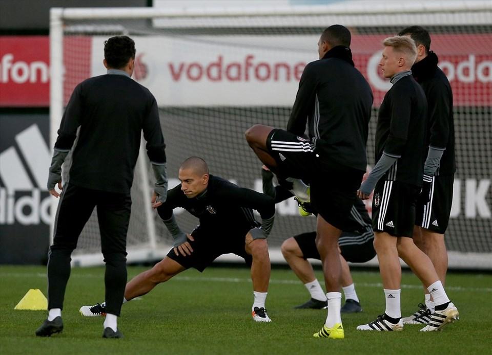 Beşiktaş Benfica maçı hazırlıklarını tamamladı.