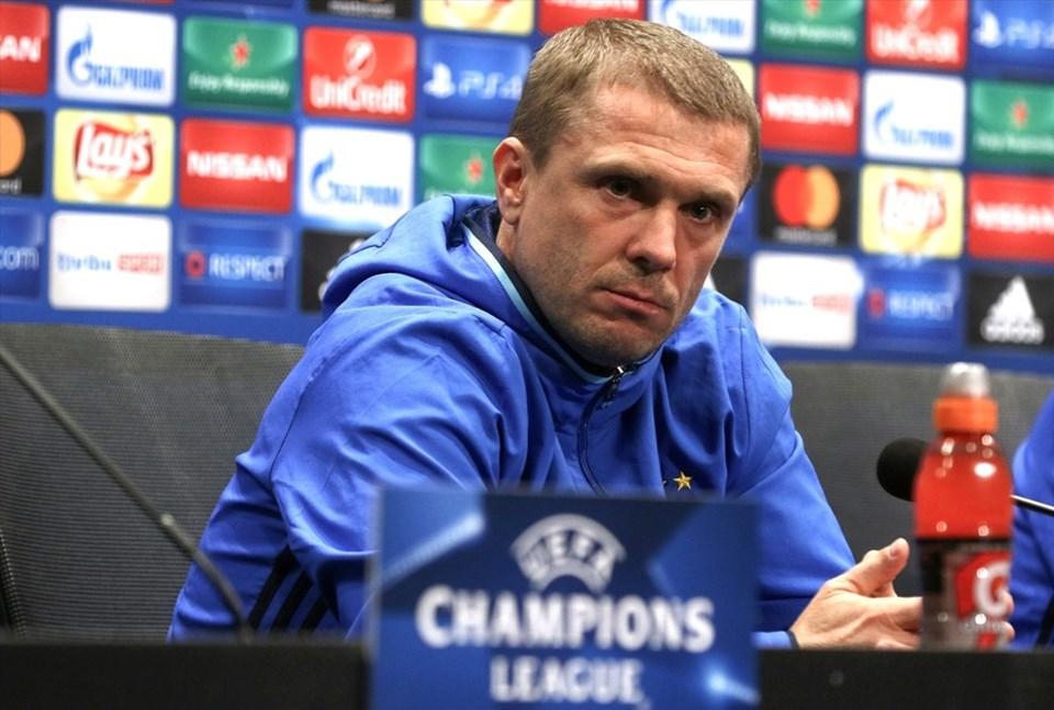 Dinamo Kiev'i bir dönem Fenerbahçe forması da giyen Sergiy Rebrov çalıştırıyor.