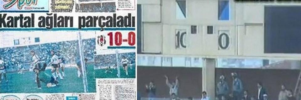 Beşiktaş - Adanademirspor maçılig tarihinin unutulmazları arasında