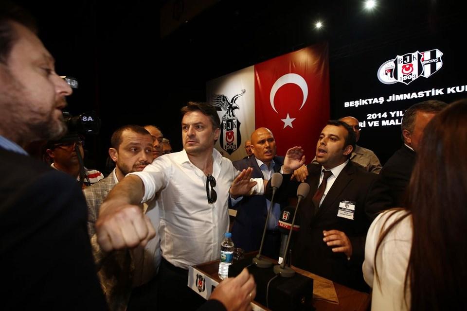 Beşiktaş kongresinde gerginlik ve ölüm