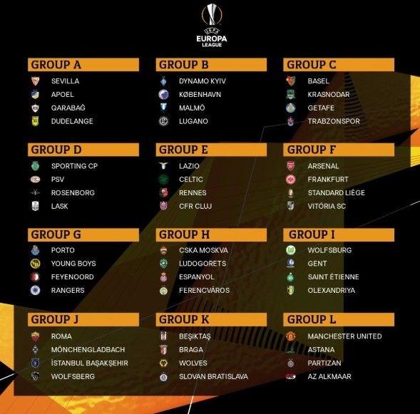 uefa avrupa ligi besiktaş grup ile ilgili görsel sonucu