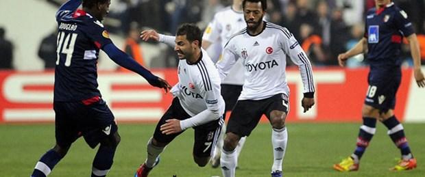 Beşiktaş tur vizesini kaptı