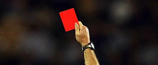 Bir maçta tam 36 kırmızı kart!