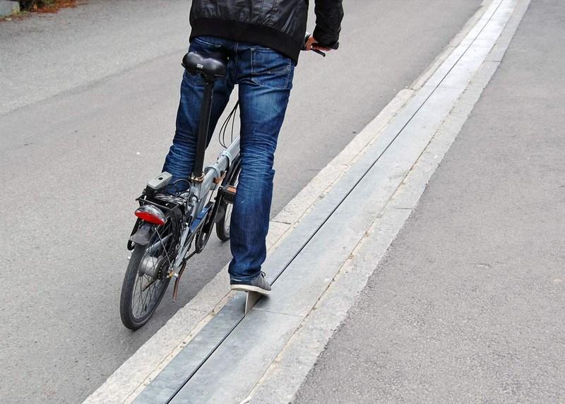 Bisikletliler için asansör