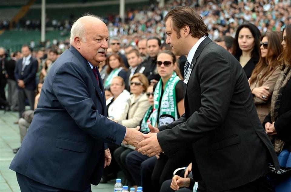 Bursa'dan 'şampiyon başkan'a veda
