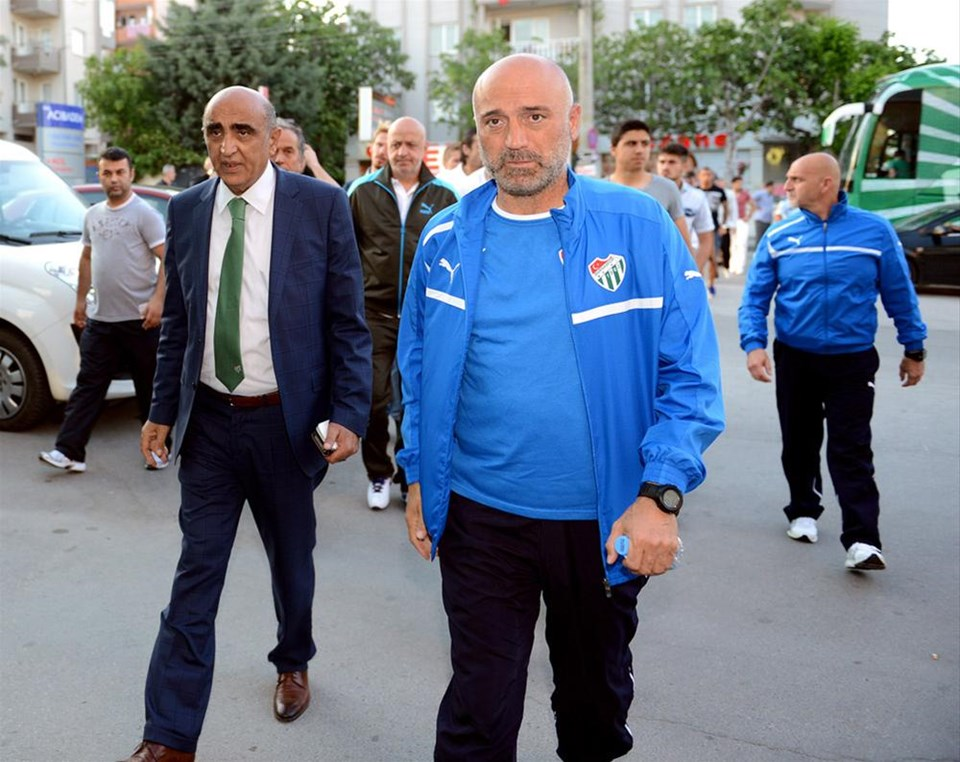Bursaspor başkanına gitti