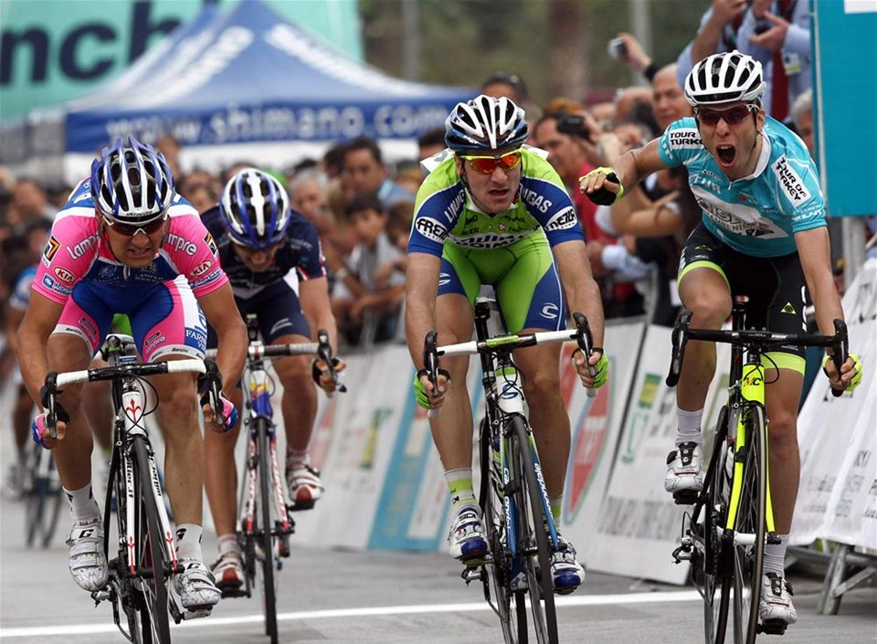 Cumhurbaşkanlığı Bisiklet Turu'nda zafer Visconti'nin