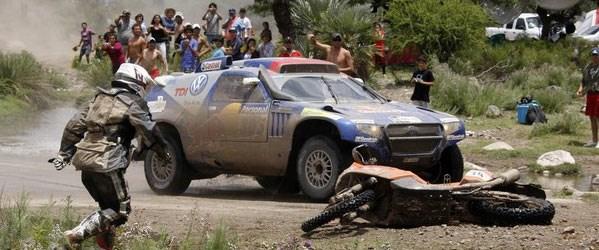 Dakar Rallisi'nde 2. etap