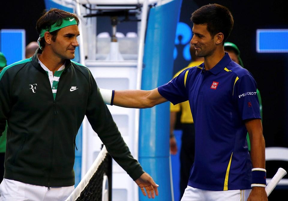 Roger Federer ve Novak Djokovic birçok maçta birbirine rakip oldu.
