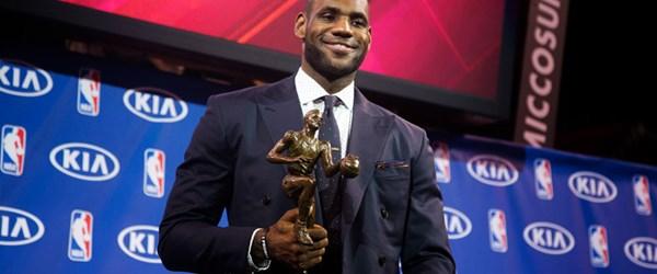 'En değerli oyuncu' LeBron James