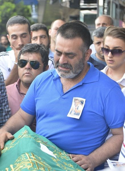 Erkan Koyuncu'ya son veda