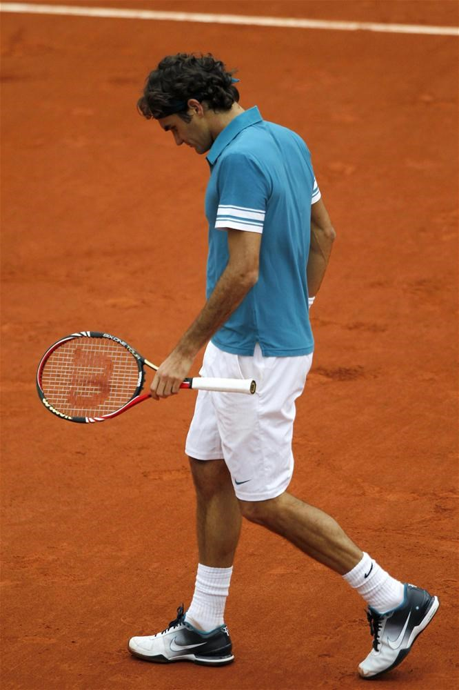Federer'den şok veda