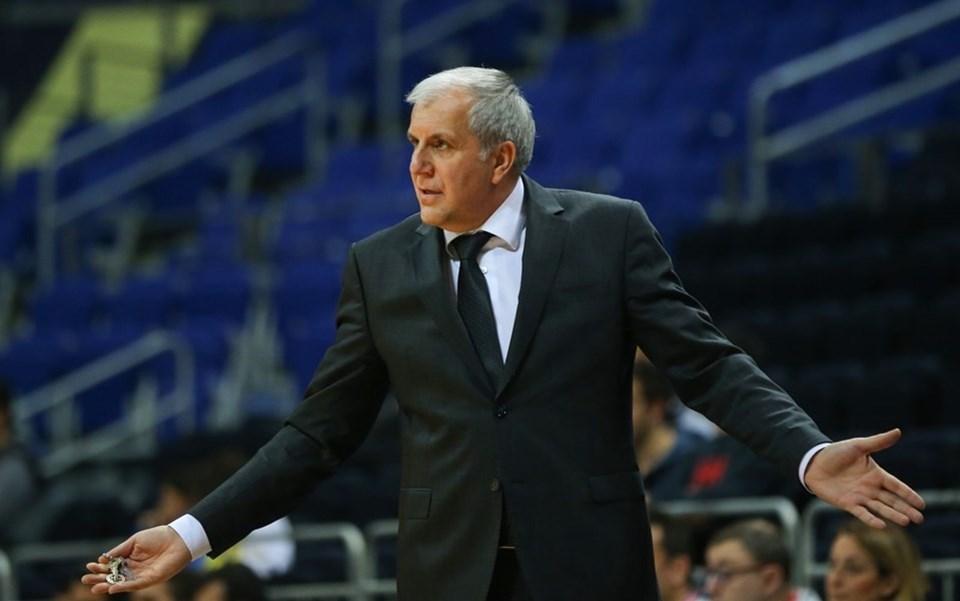 Fenerbahçe Doğuş koçu Zeljko Obradovic