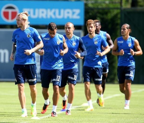 Fenerbahçe, Grasshoppers maçı hazırlıklarını tamamladı.