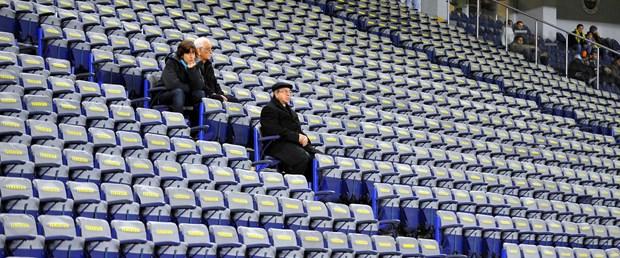 Fenerbahçe taraftarı ilgi göstermedi