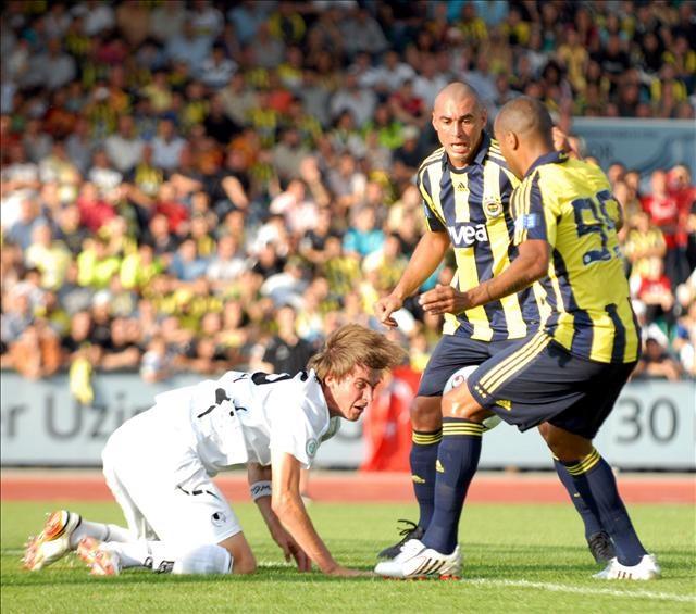 Fenerbahçe, ULM 1846'yı 5-0 mağlup etti