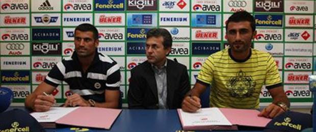 Fenerbahçe Volkan ve Selçuk'la imzaladı