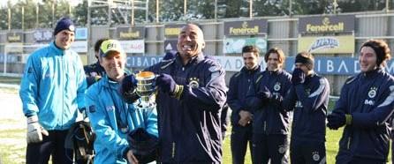 Fenerbahçe'de Bilica kutlaması
