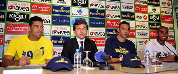 Fenerbahçe'de Brezilyalılar imzaladı