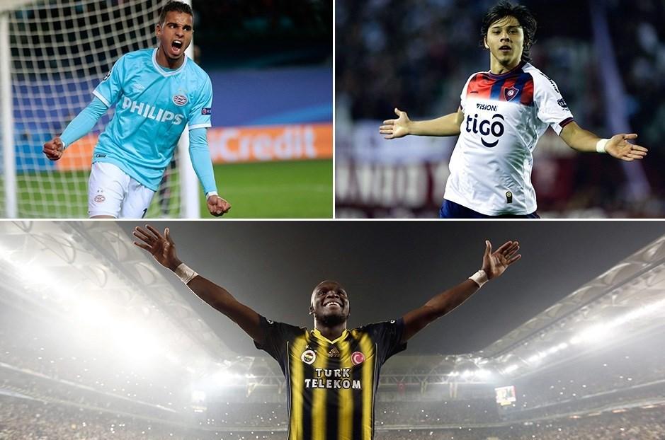 Fenerbahçe'nin hedefinde Maher (sol üst), Romero (sağ üst) ve Sow var.