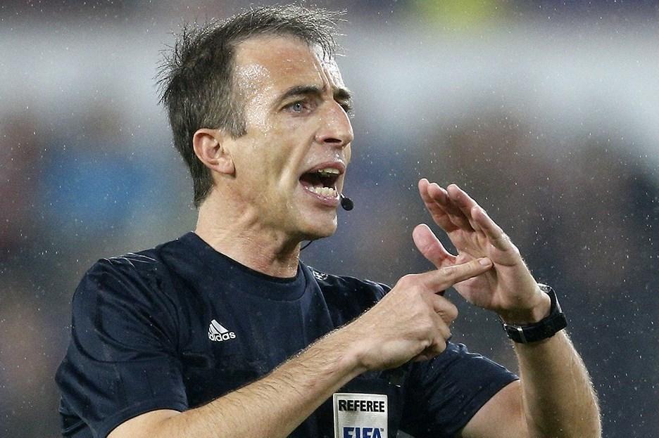 Maçın İspanyol hakemi Angel Nevado Rodriguez.