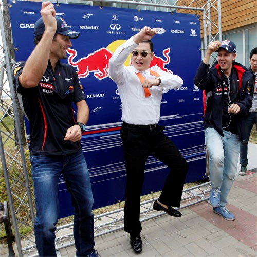 Formula 1'de 'Gangnam Style' sürprizi