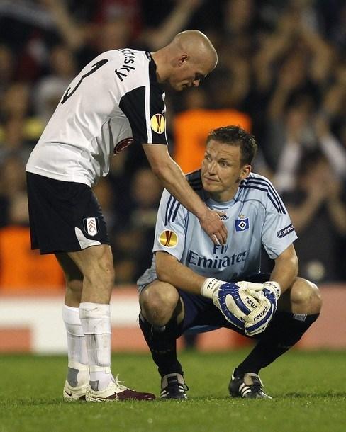 Fulham: 2 - Hamburg: 1