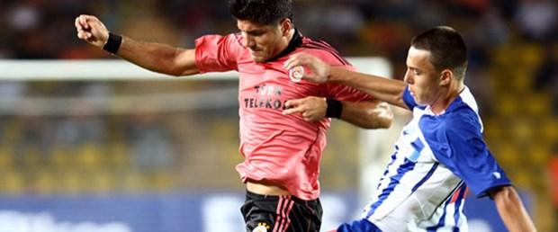 Galatasaray avantajı Belgrad'a verdi