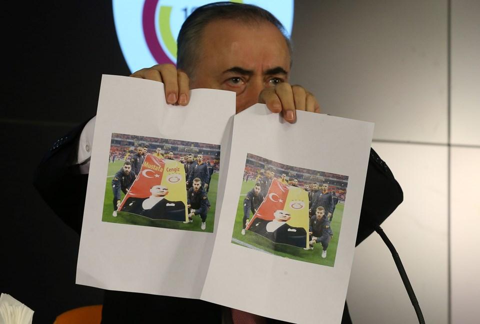 Mustafa Cengiz'in tepki gösterdiği fotoğraf
