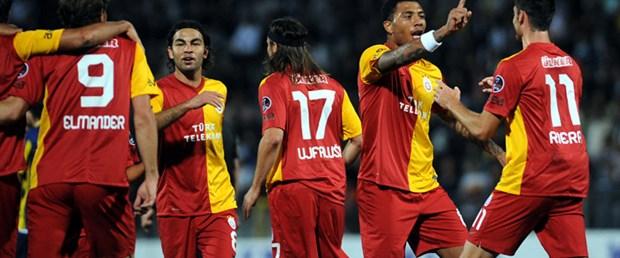 Galatasaray deplasmanda siftah yaptı