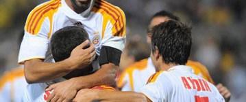 Galatasaray ilk 10'da