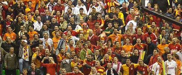 Galatasaray taraftarından büyük destek