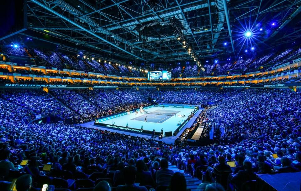 Barclays ATP World Tour FinalleriLondra'daki The O2 Arena'da düzenleniyor.