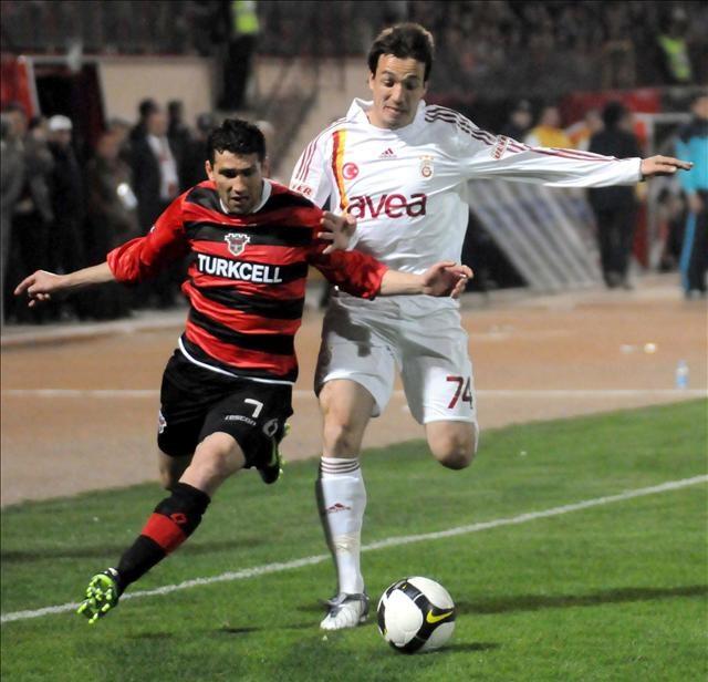Gaziantepspor: 0 - Galatasaray: 1