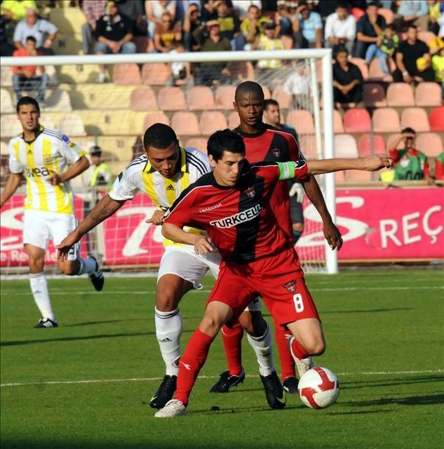 Gaziantepspor : 2 - Fenerbahçe : 1