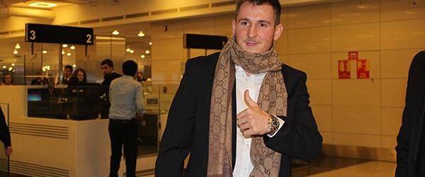 Hajrovic İstanbul'a geldi