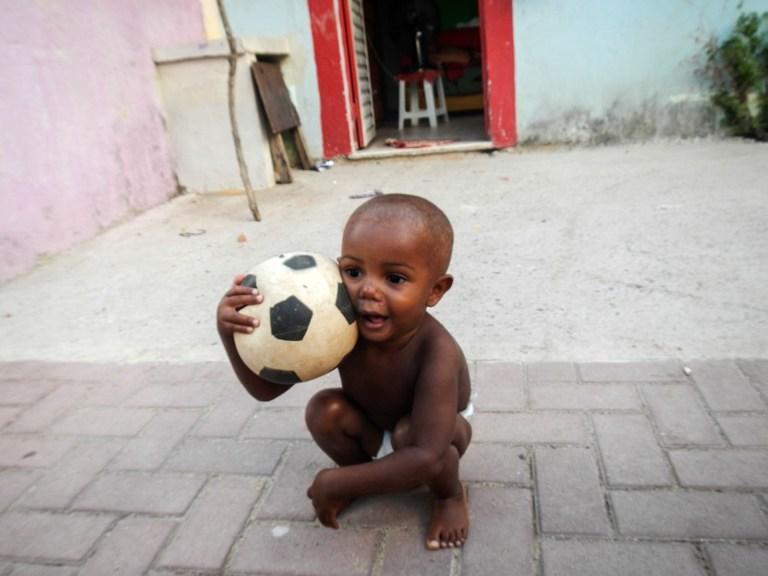Hayat onlar için futbol