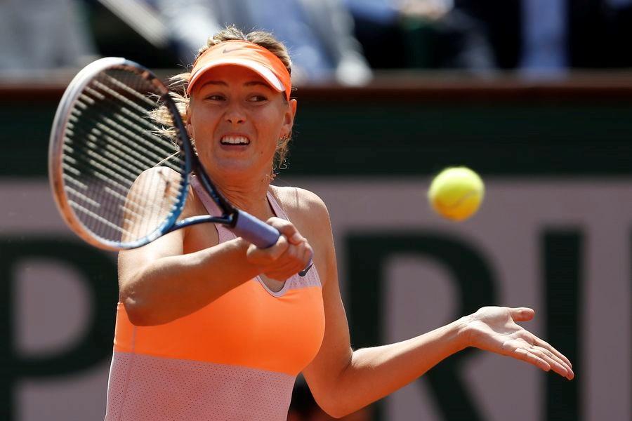 İlk finalist Sharapova