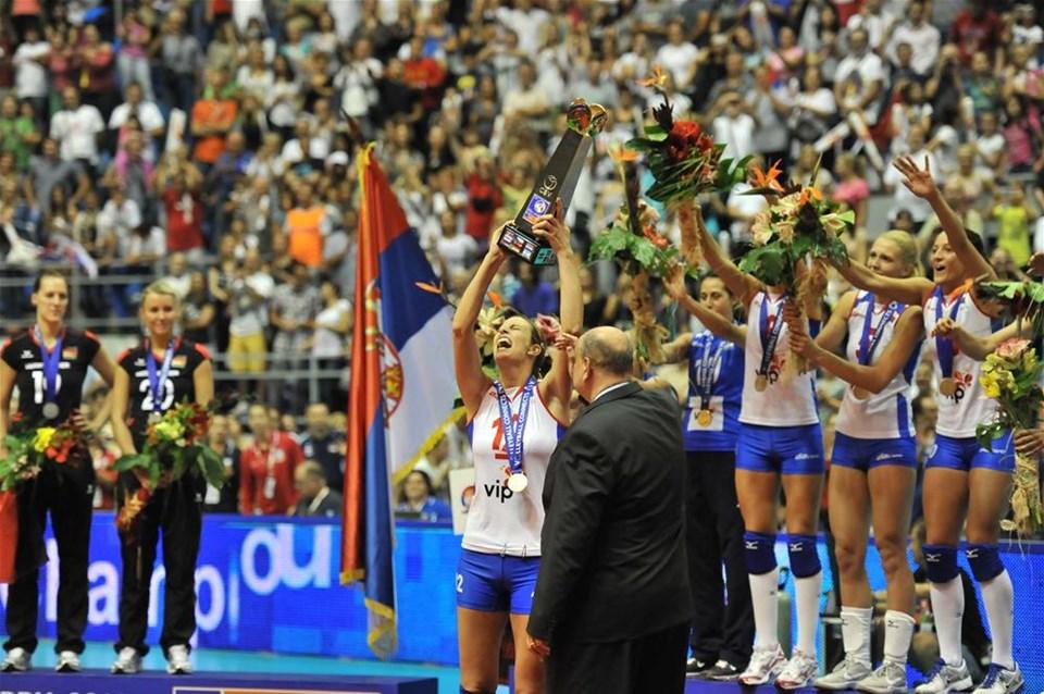 İlk kez Avrupa Şampiyonu