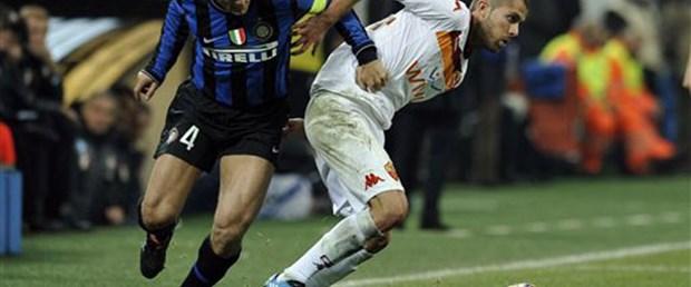 Inter'e Roma çelmesi: 1-1