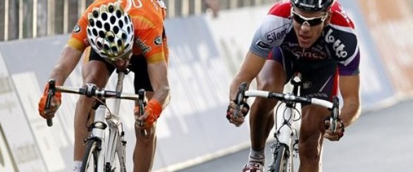 İspanya Bisiklet Turu'nda kırmızı mayo