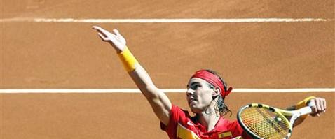 İspanya Davis Kupası'na iyi başladı
