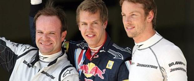 İstanbul'da ilk cep Vettel'in