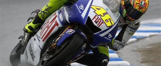 Japonya'da Rossi ilk cepte