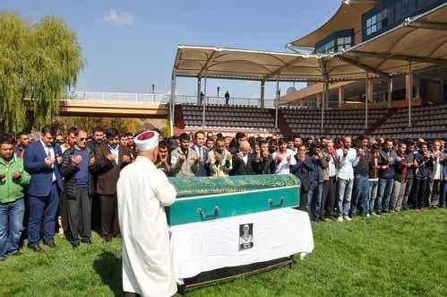 Ömer Kaya, hayatını kaybettiği Ankara Hipodromu'ndan uğurlandı...