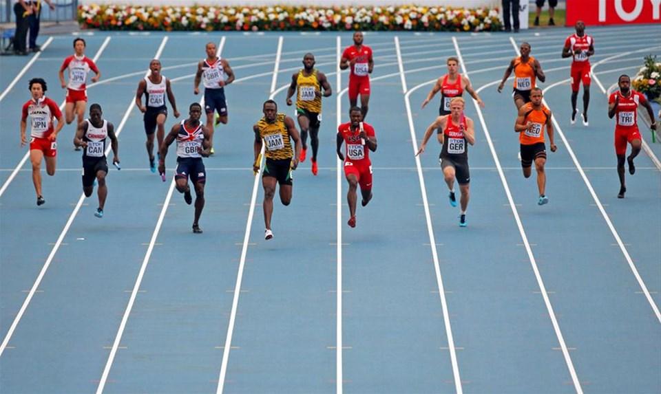 Kapanışı Bolt yaptı