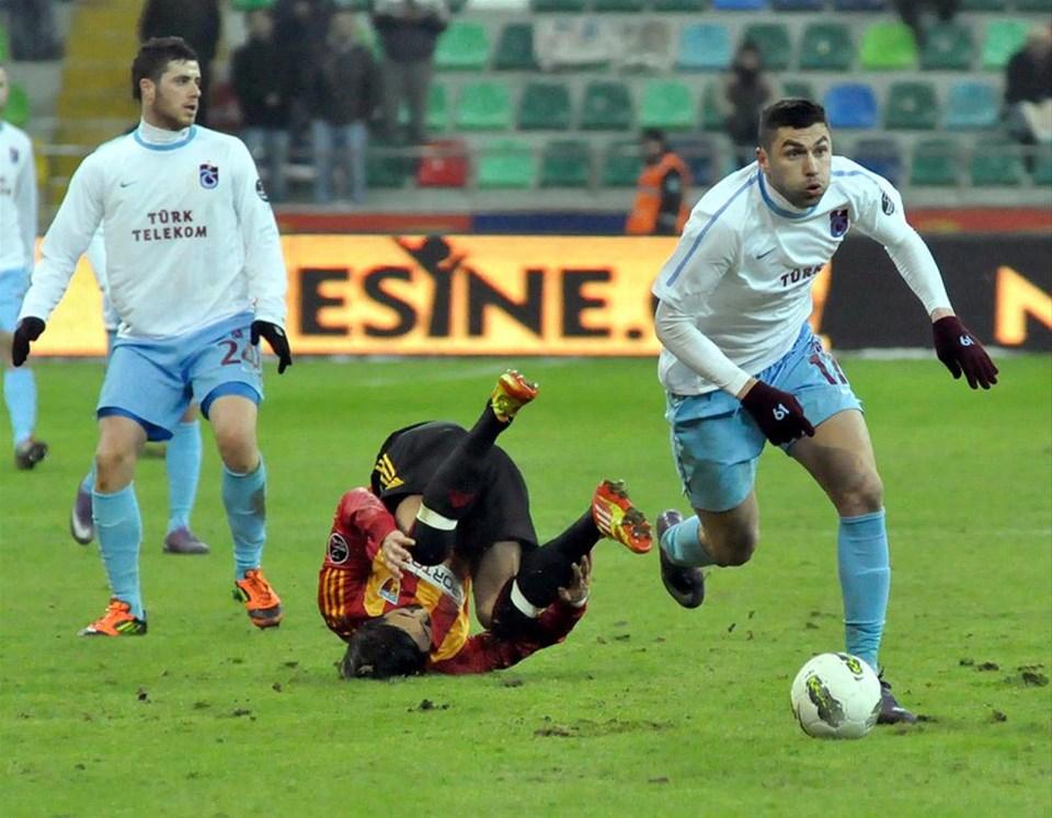Kayseri'de yarım düzine gol