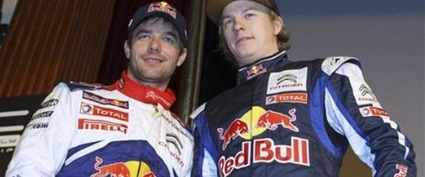 Kimi Raikkonen WRC sahnesinde