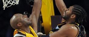Lakers yıldızlarıyla güldü: 116-102