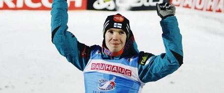 Lillehammer'de gülen Harri Olli